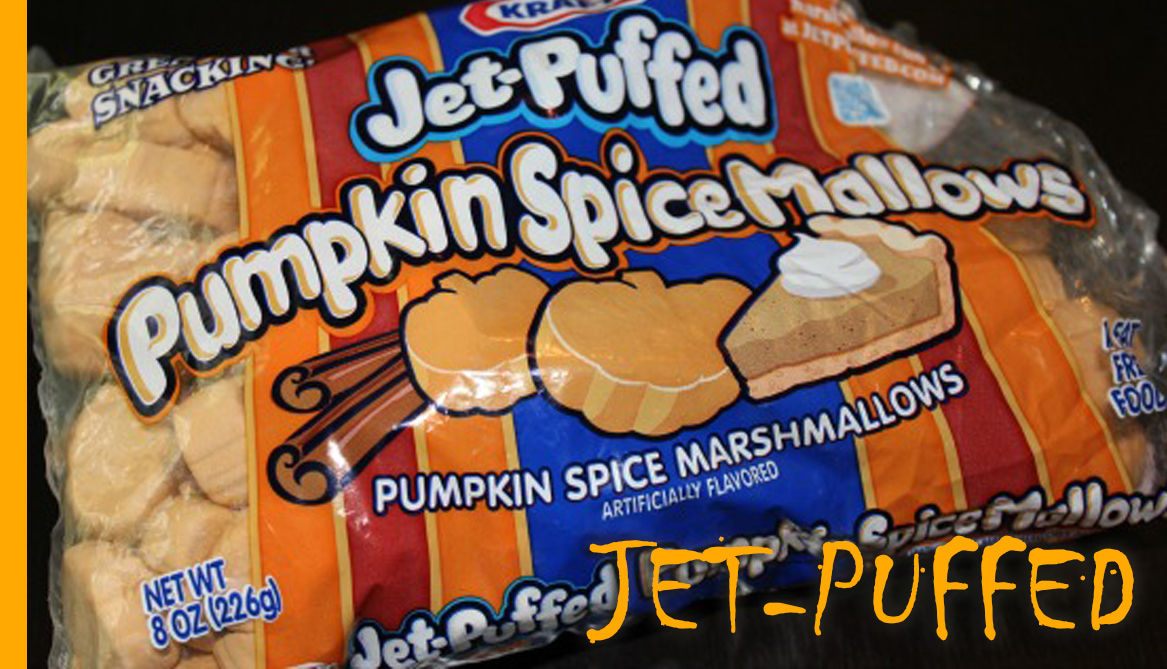 Jet-Puffed Pumpkin Spice Marshmallows